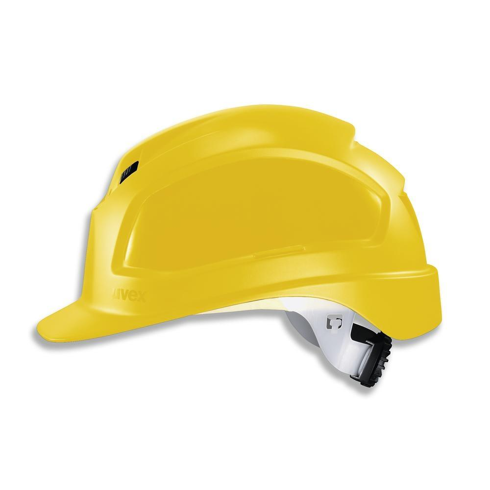 Safety helmet uvex pheos B-WR 9772, 52 - 61 cm EN 397 colour yellow