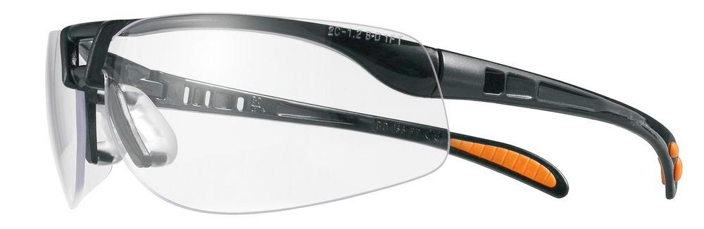 Single lens safety glasses, Protégé-3, anti-mist and scratchproof, clear - 1