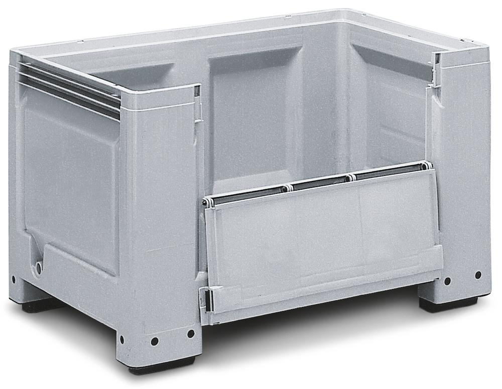 Storage Box Model PB 10-FK, With Front Flap and 4 Feet, 670 litres