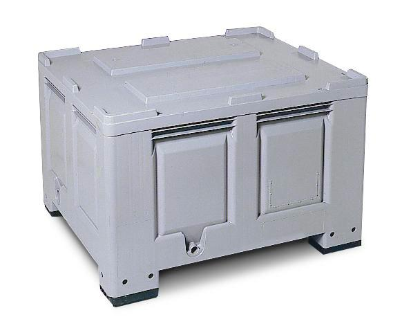 Storage Box Model PB 10-K with 3 skids, 670 litres