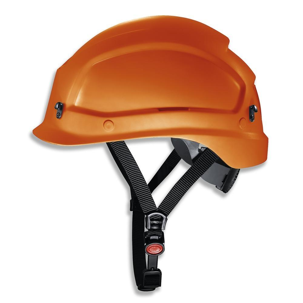 uvex pheos alpine helmet for working at heights and rescue operations. 52 - 61 cm colour orange