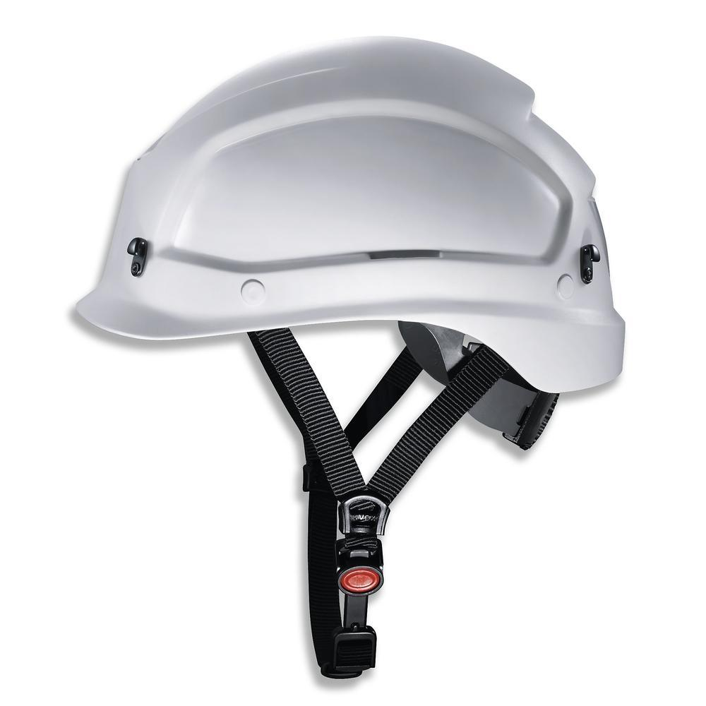 uvex pheos alpine helmet for working at heights and rescue operations. 52 - 61 cm colour white