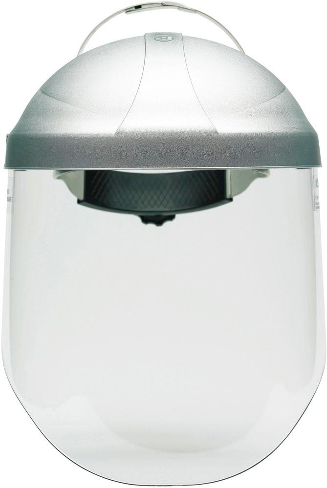 Visor, polycarbonate, clear, for visor holder model FS, heat, spray and impact protection