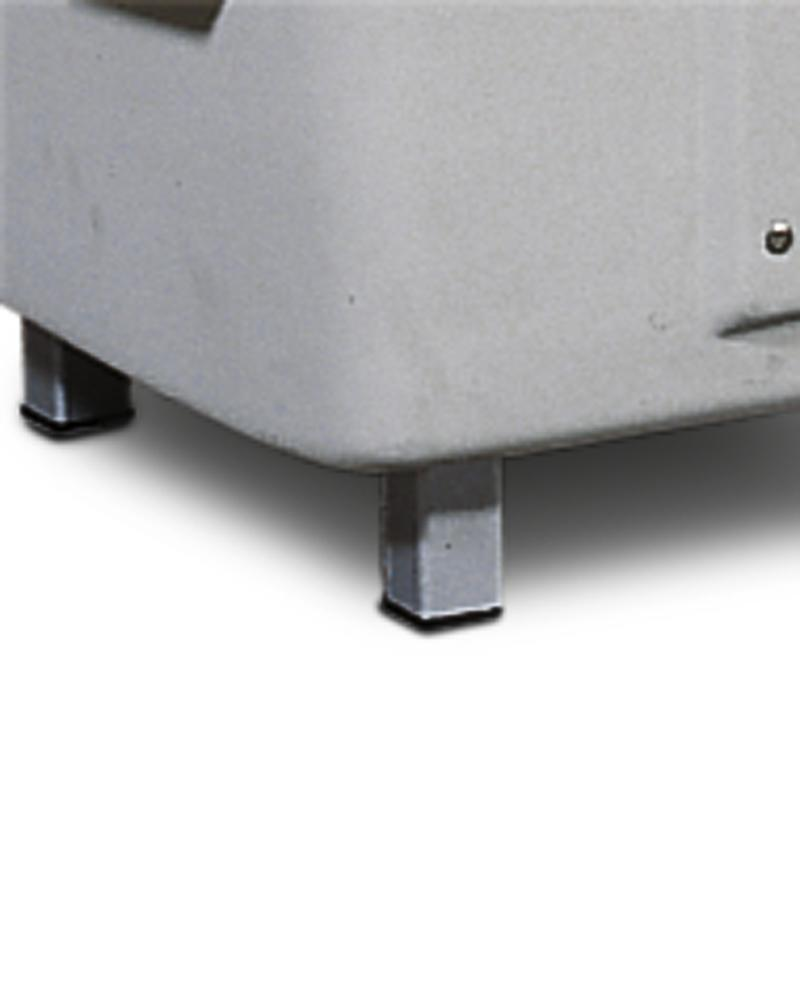 Base frame with 4 feet for grit bin SB 550