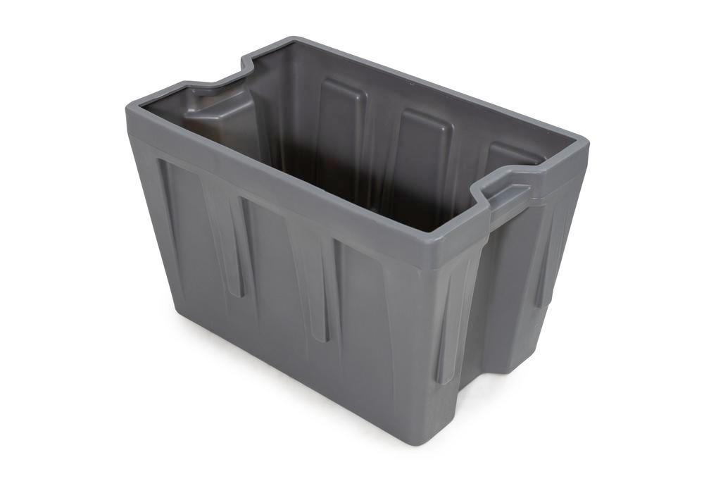 Box insert in polyethylene (PE) for stacking containers PolyPro 260 litre, 437 x 685 x 440 mm - 1