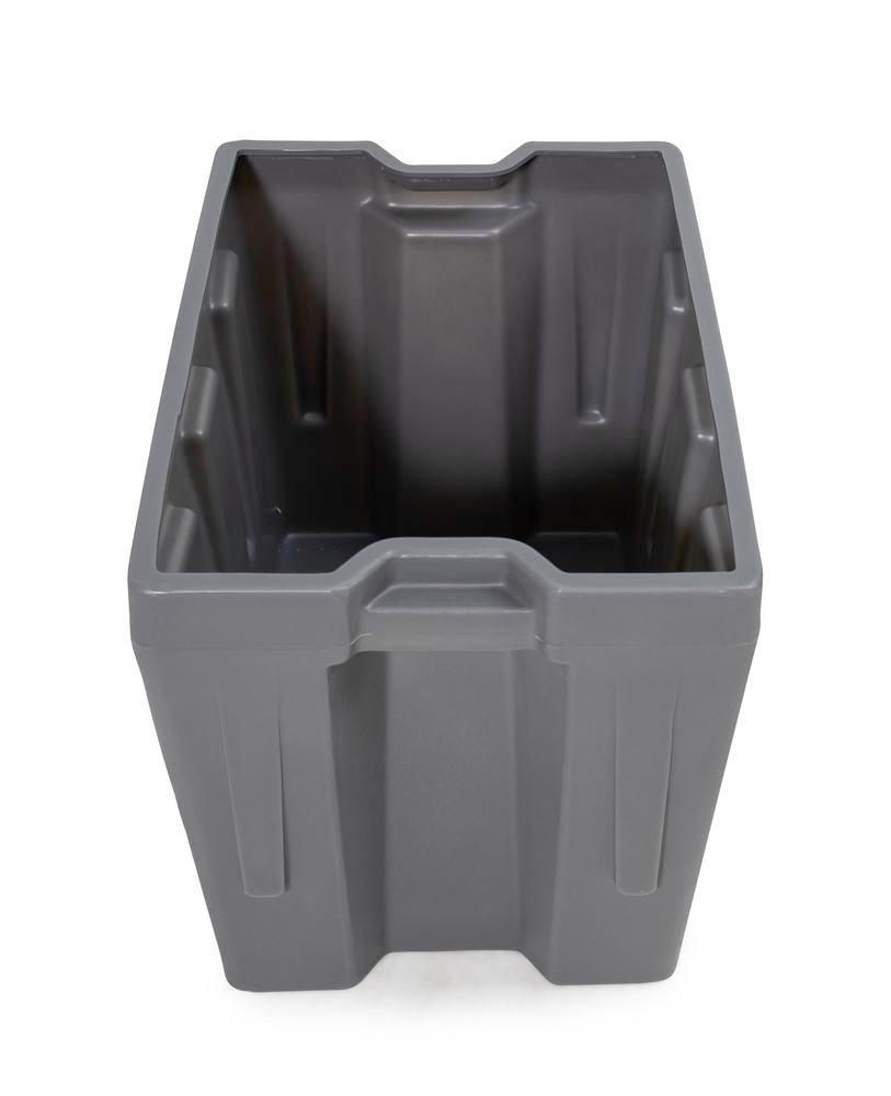 Box insert in polyethylene (PE) for stacking containers PolyPro 260 litre, 437 x 685 x 440 mm - 3