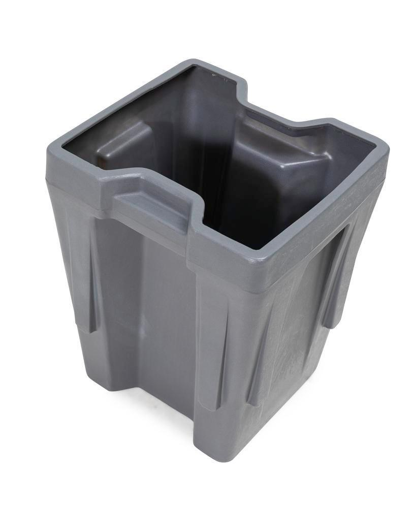 Box insert in polyethylene (PE) for stacking containers PolyPro 300 litre, 351 x 331 x 440 mm - 1