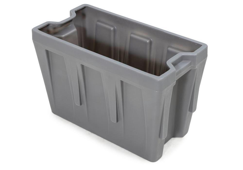 Box insert in polyethylene (PE) for stacking containers PolyPro 300 litre, 351 x 667 x 440 mm - 1