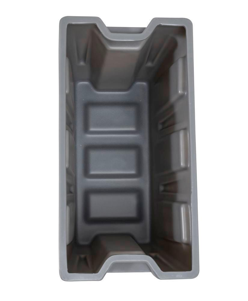Box insert in polyethylene (PE) for stacking containers PolyPro 300 litre, 351 x 667 x 440 mm - 4