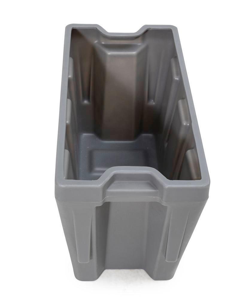 Box insert in polyethylene (PE) for stacking containers PolyPro 300 litre, 351 x 667 x 440 mm - 9