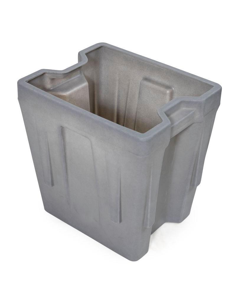 Box insert in polyethylene (PE) for stacking containers PolyPro 400 litre, 351 x 430 x 440 mm - 1