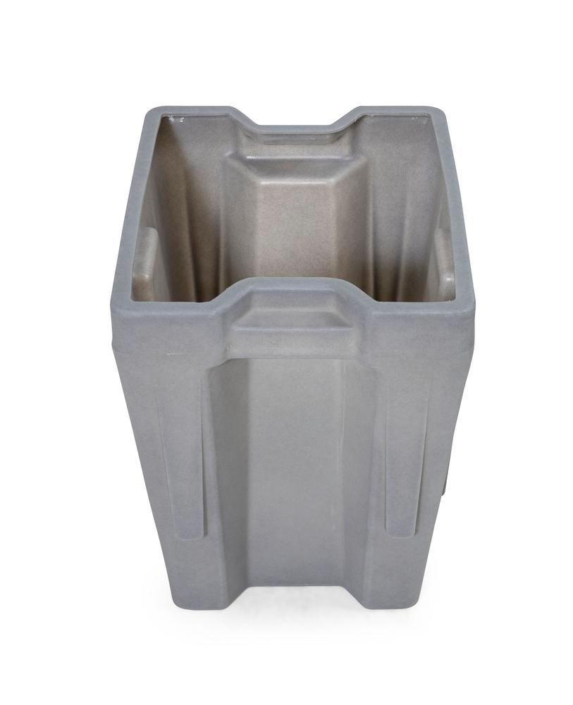 Box insert in polyethylene (PE) for stacking containers PolyPro 400 litre, 351 x 430 x 440 mm