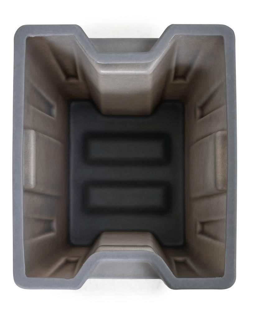 Box insert in polyethylene (PE) for stacking containers PolyPro 400 litre, 351 x 430 x 440 mm - 7