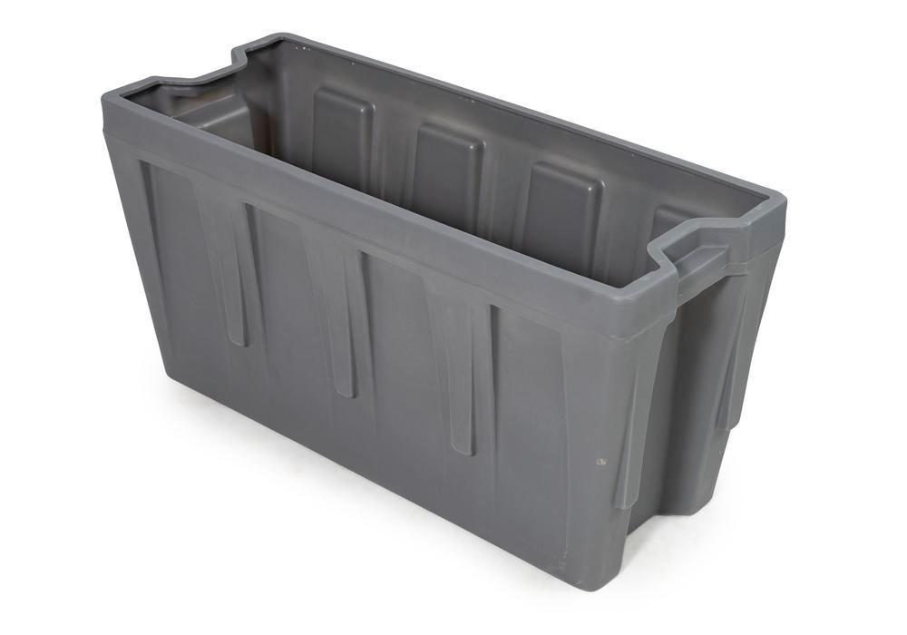 Box insert in polyethylene (PE) for stacking containers PolyPro 400 litre, 351 x 865 x 440 mm - 1
