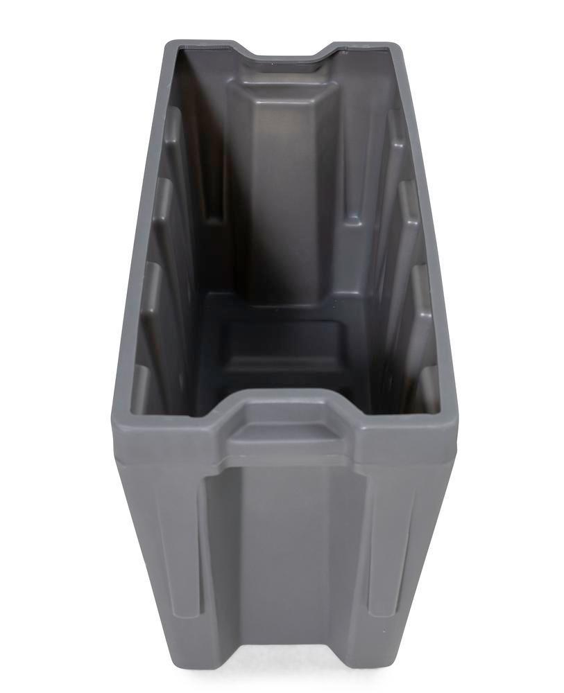 Box insert in polyethylene (PE) for stacking containers PolyPro 400 litre, 351 x 865 x 440 mm - 9