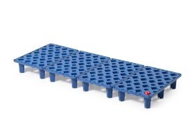 Grid in polyethylene (PE) for PE spill tray for small containers pro-line, 20 litres, 1000x400x90-w280px