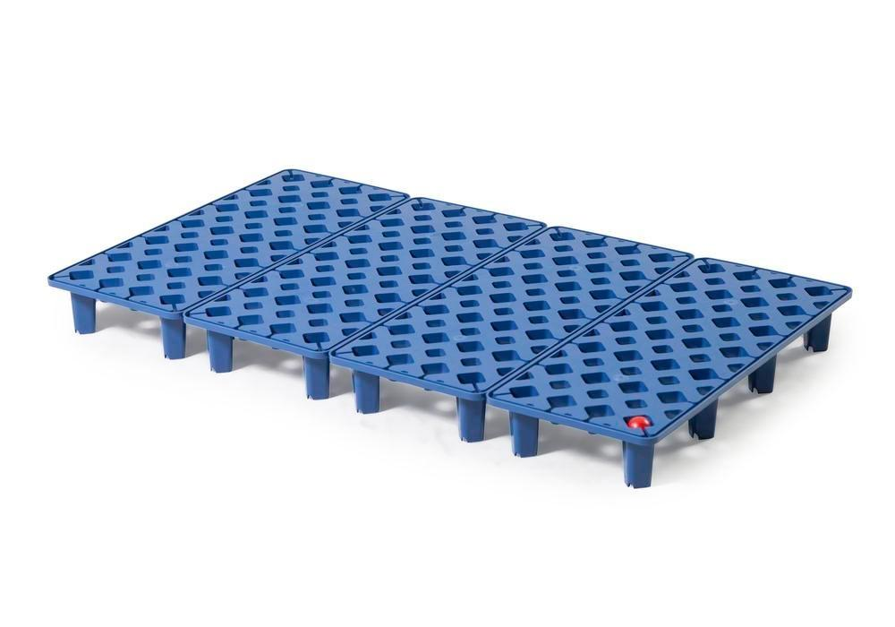 Grid in polyethylene (PE) for PE spill tray for small containers pro-line, 30 litres, 1000x600x90 - 1