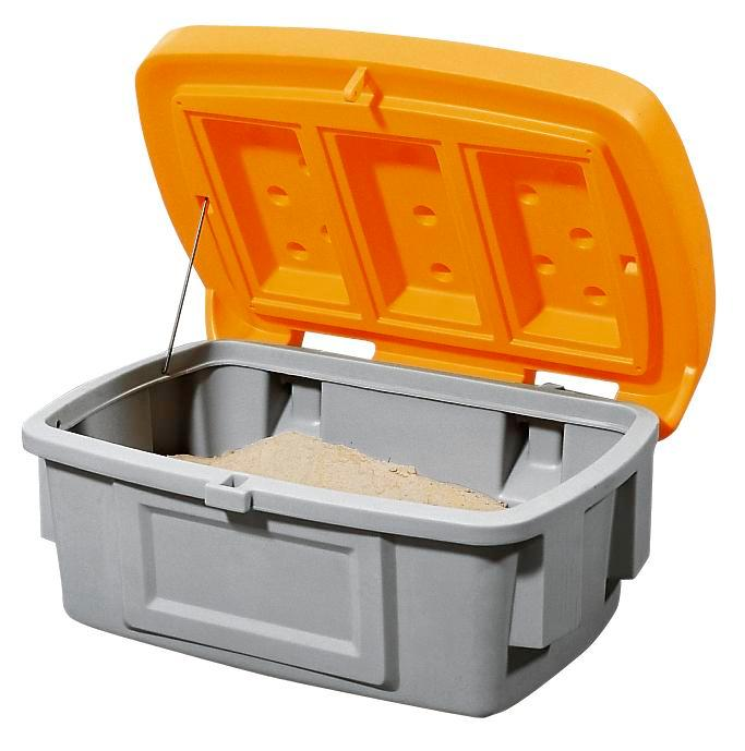 Grit Bin Model SB 100, Orange Lid