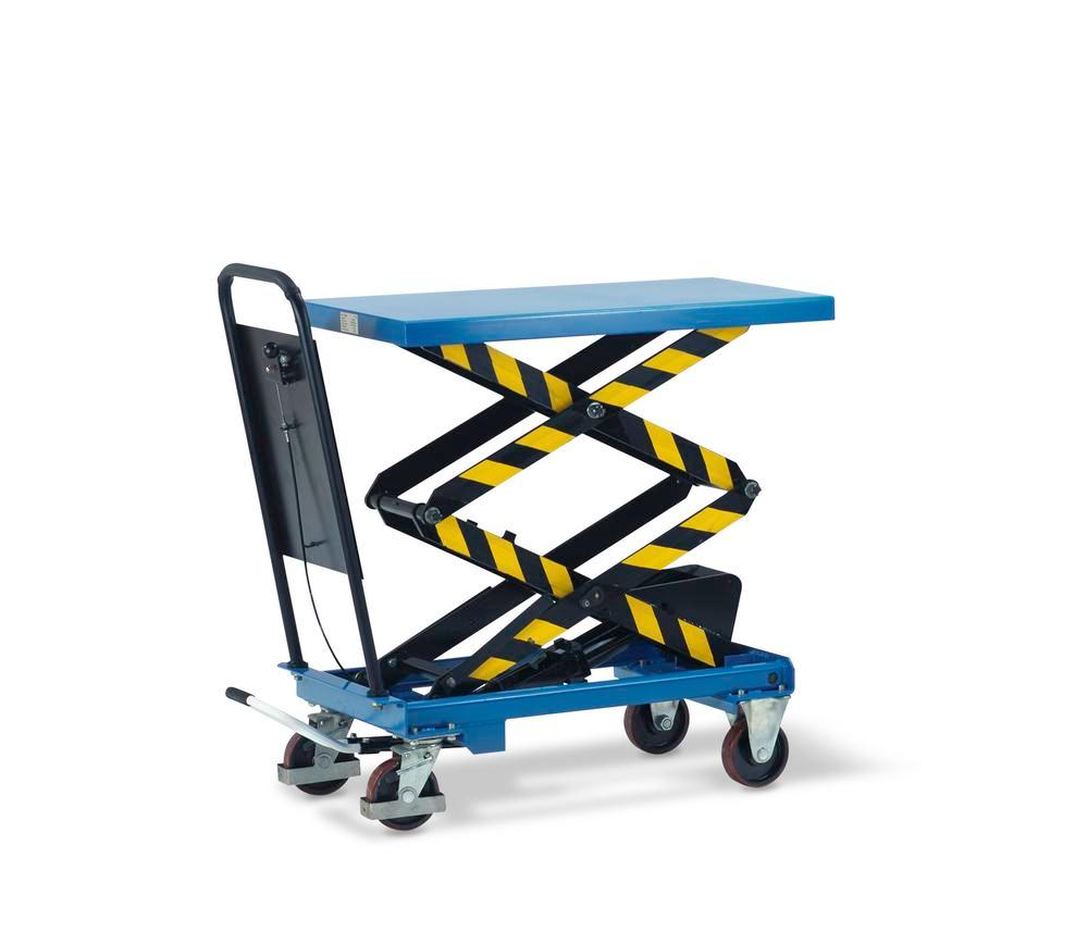 Lifting table, model HTW-D-50, double scissor lift