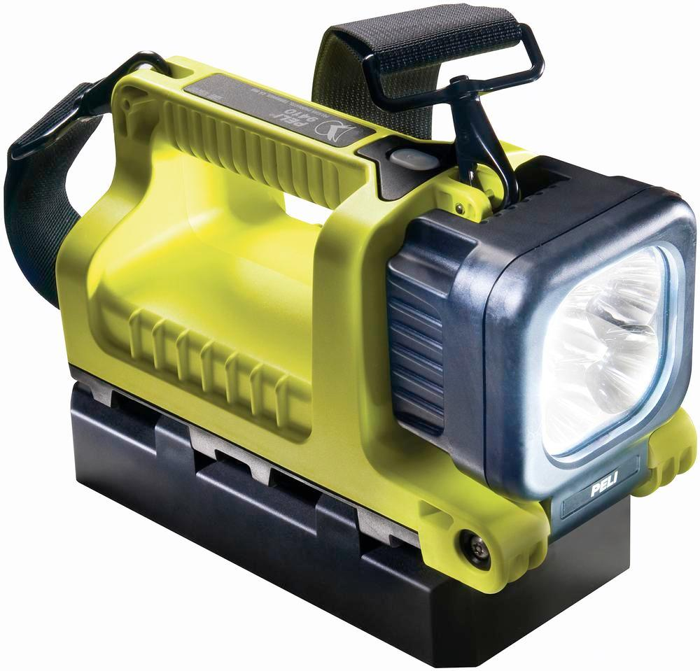 Portable lamp 9410, incl. Battery pack 4 NIMH, LED rotatable, yellow