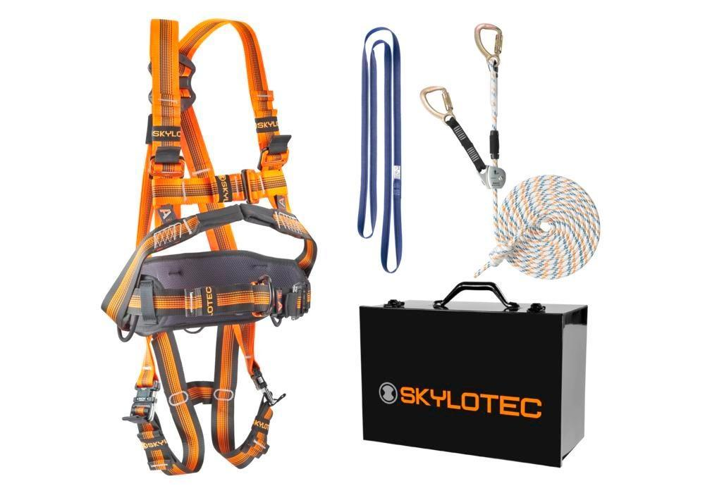 Safety harness Comfort set EXTRA, including harness, fall arrest system