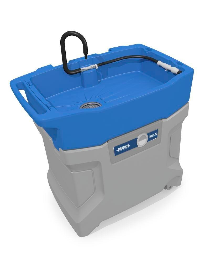 bio.x B60 parts cleaner, complete set consisting of washstand and initial filling of bio-cleaner