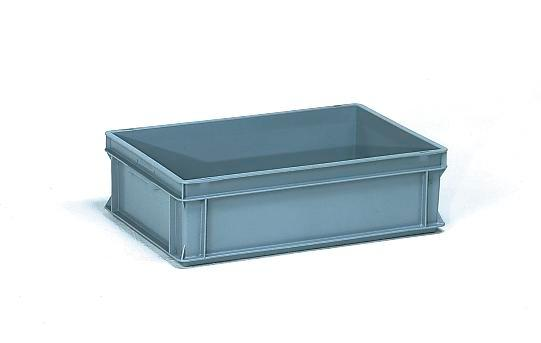 Euro standard boxes, 23 litre volume, for tiered trolleys BW and BW-N - 1