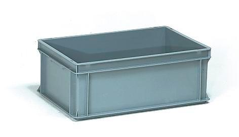 Euro standard boxes, 43 litre volume, for tiered trolleys BW and BW-N