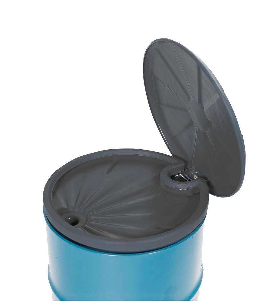 FALCON drum funnel in polyethylene (PE), 5 litre, with lid