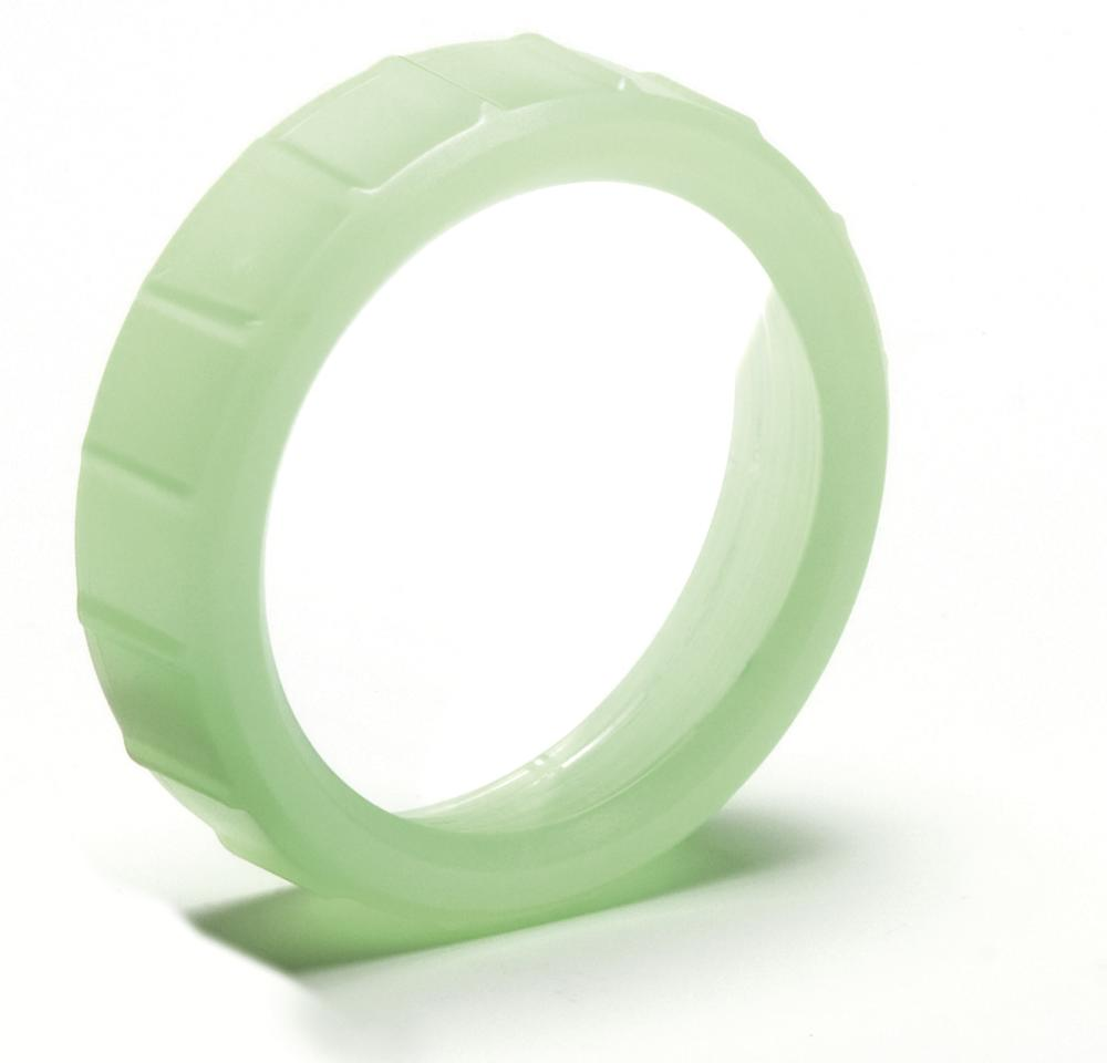 Glow in the dark lamp lens ring, accessory for 3715-ZO