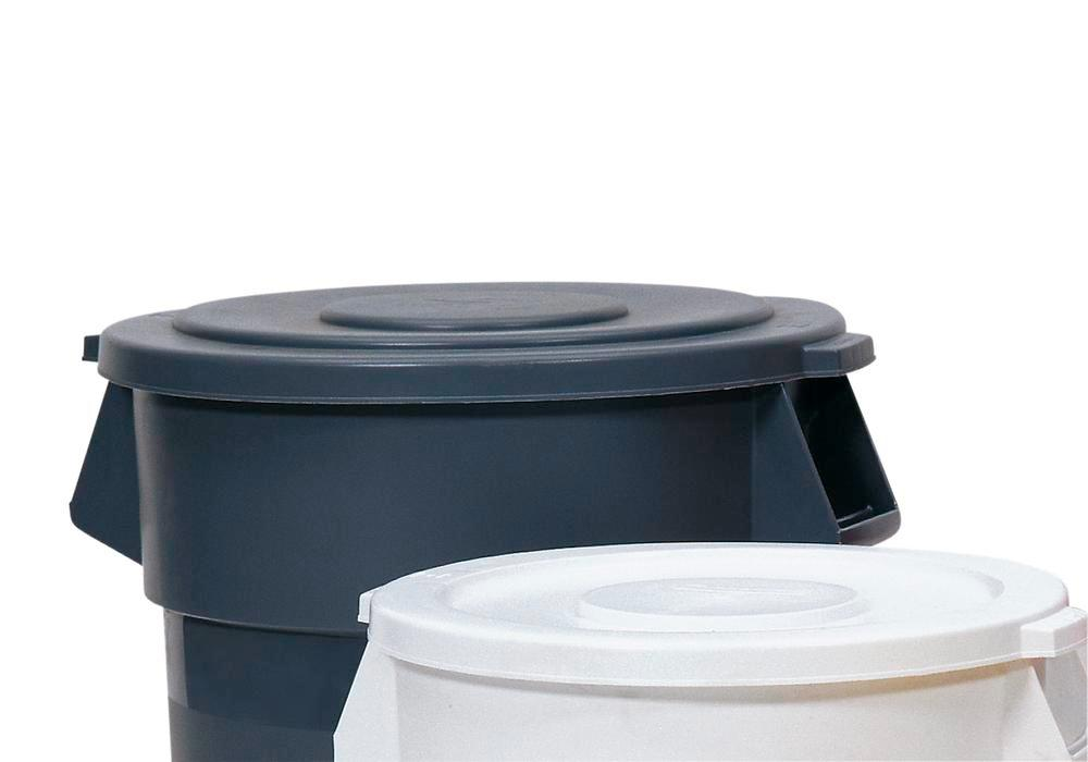 Lid for Multi Purpose Container, 210l, Grey - 1