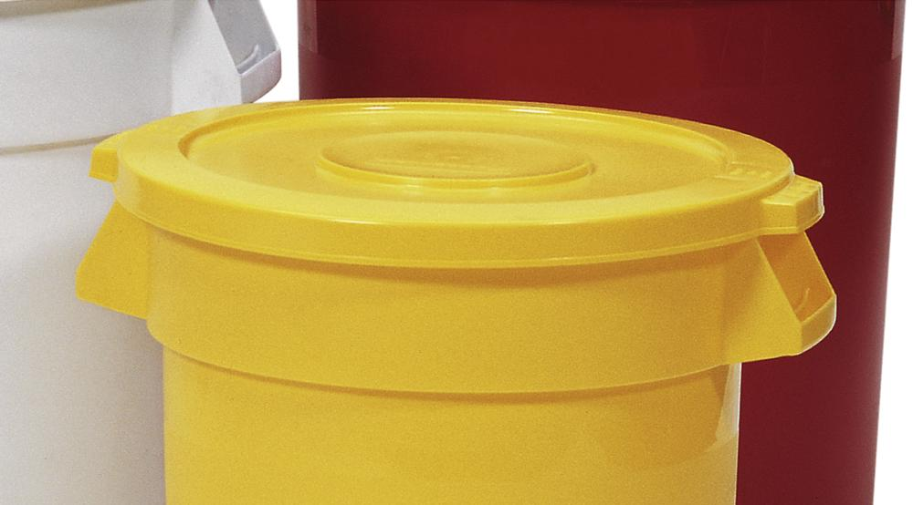 Lid for Multi Purpose Container, 385l, Yellow