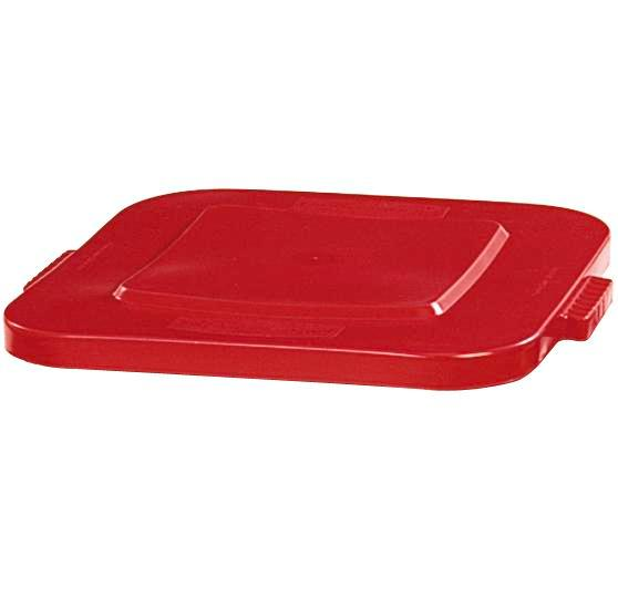 Lid for multi-purpose container of polyethylene (PE), volume 105 litres, red - 1