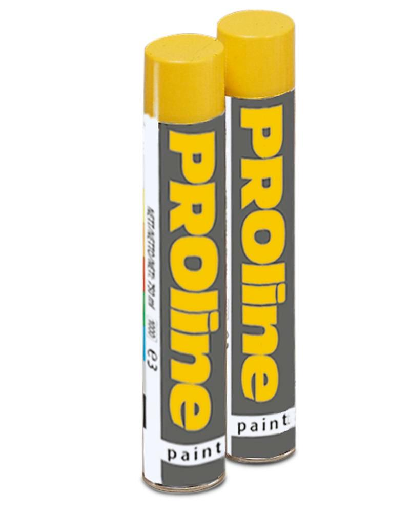 Marking paint, 750 ml can, yellow