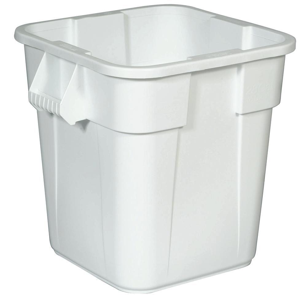 Multi-purpose container made from Polyethylene (PE), 105 litre volume, white