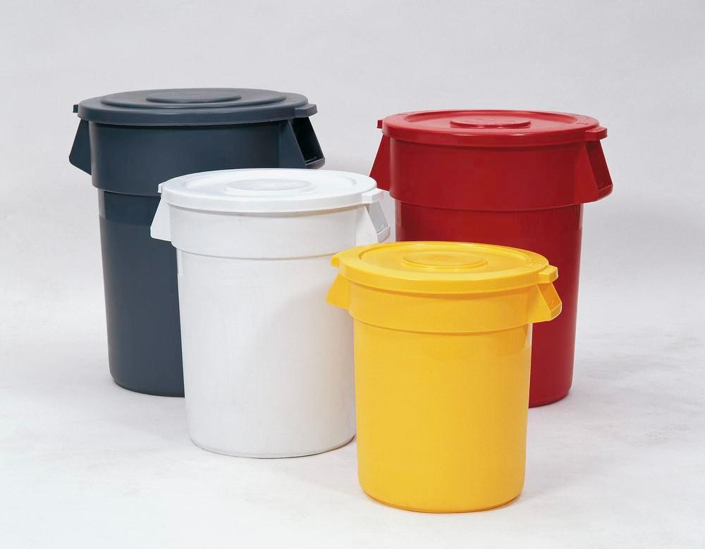 Multi Purpose Container manufactured from polyethylene, 120l, Grey