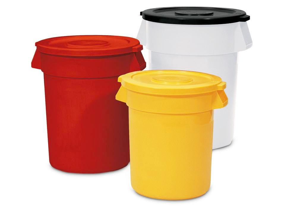 Multi Purpose Container manufactured from polyethylene, 120l, Red
