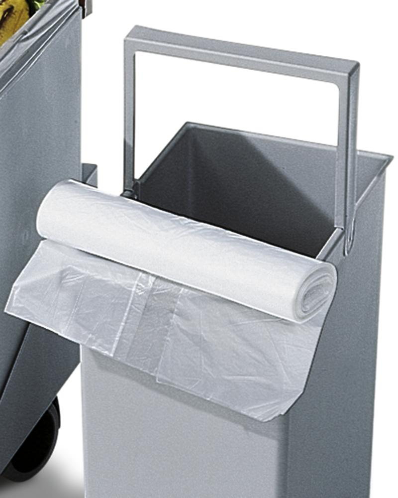 Refuse bag in HD-PE, for 30 litre recyclable materials collection box, 50 bags
