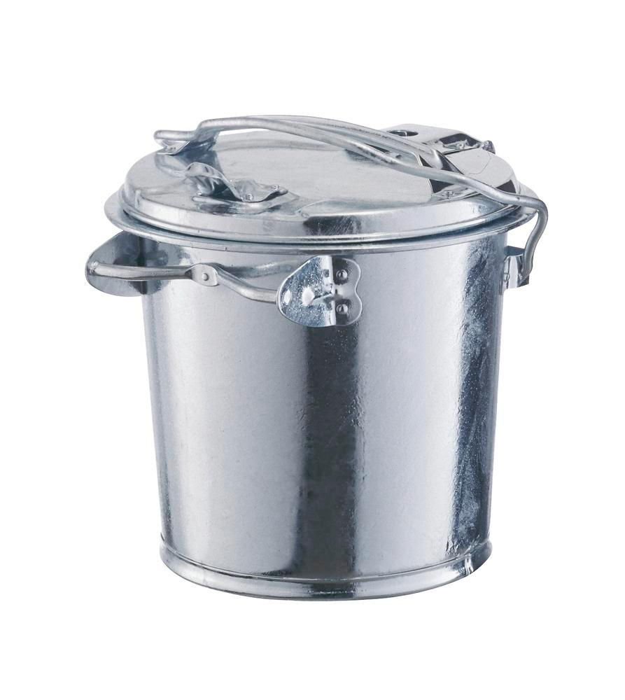 Waste bin, with bracket, 1 carry handle, 35 litre capacity - 1