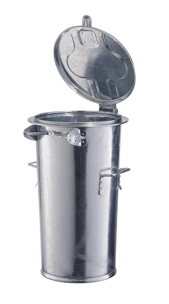 Waste bin, without bracket, 2 carry handles, 65 litre capacity - 1