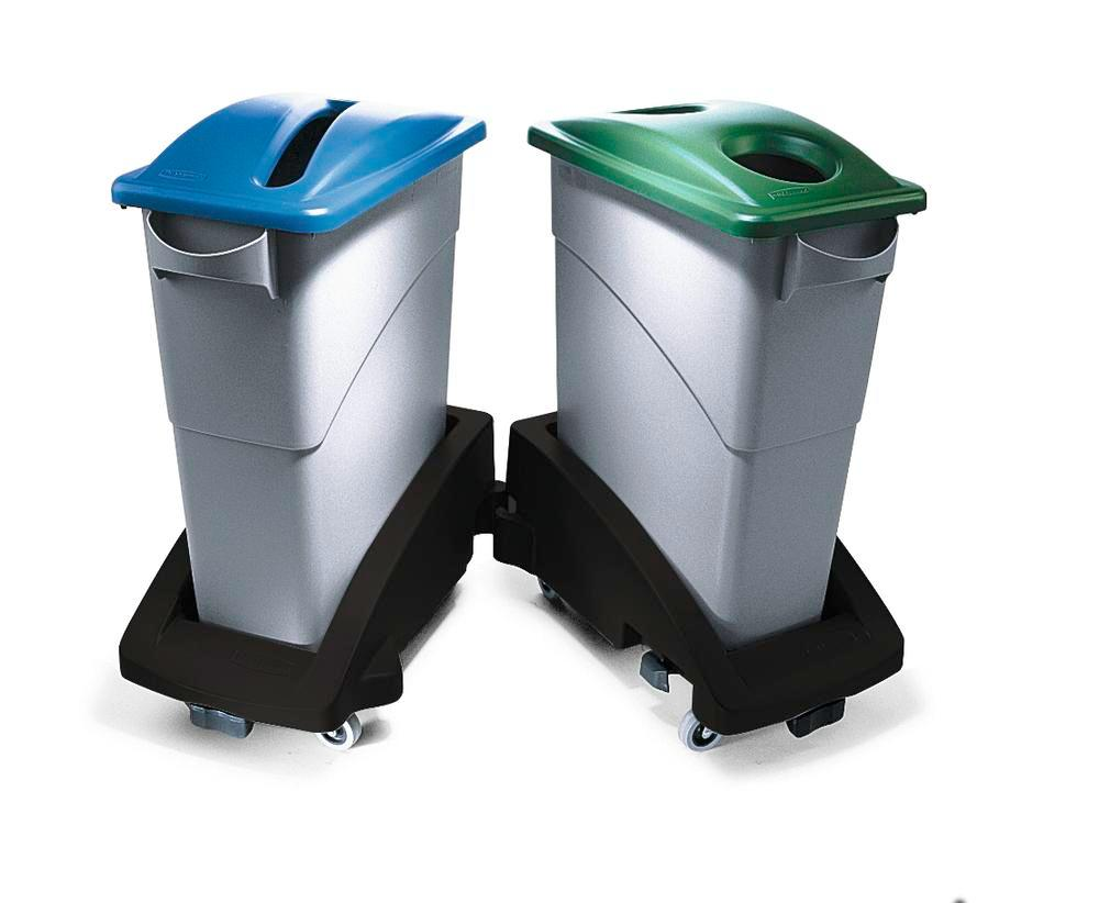 Waste Collection Bins For Recyclable Materials, 60l, Grey, Model SJ 6 - 1