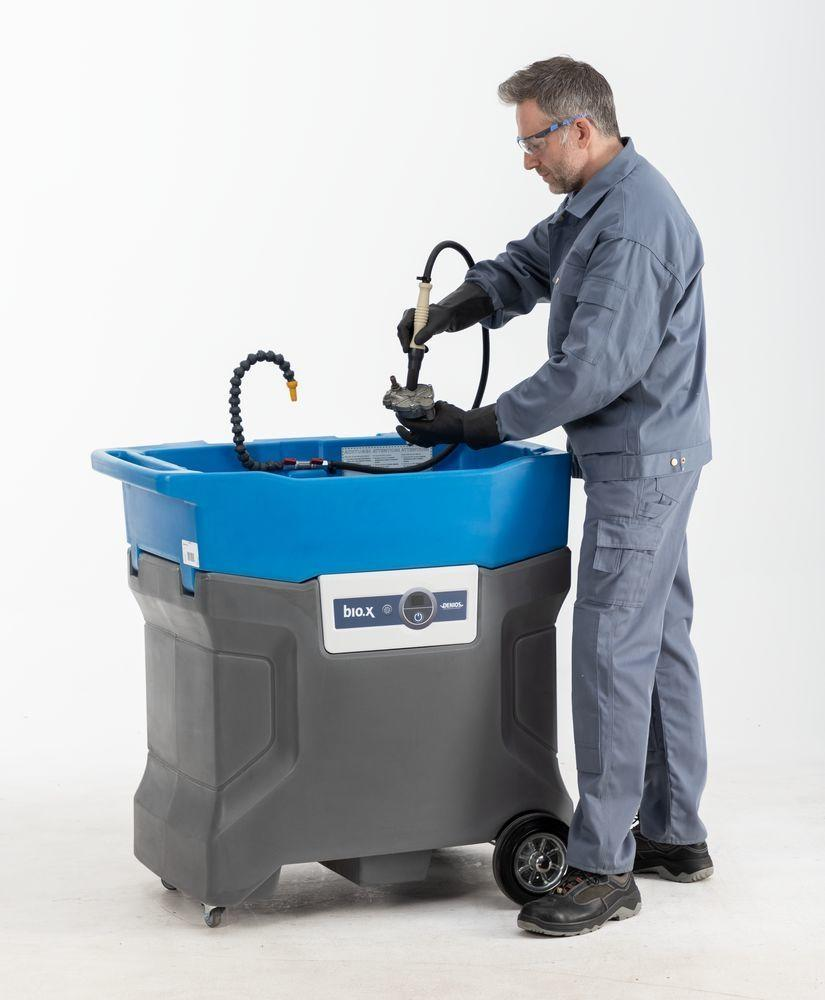 bio.x B60 parts cleaner, basic unit, for biological and solvent-free parts cleaning, 230 V