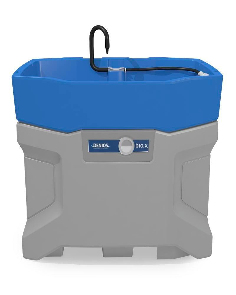bio.x C100 parts cleaner, basic unit 230 V, for biological and solvent-free parts cleaning
