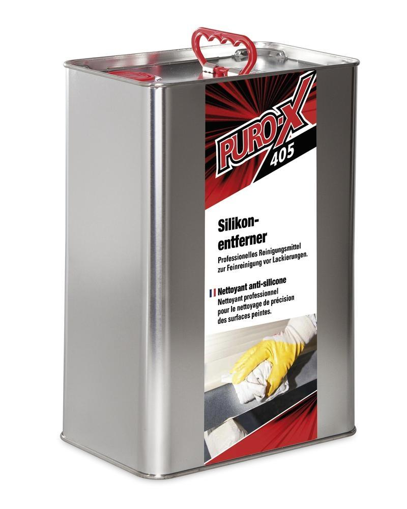 Brake cleaner and silicon remover PURO-X 405, powerful solvent cleaner, canister 10 litres