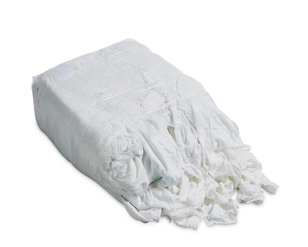 Cleaning cloth BW, made of white cotton bed linen, 3 x 10 kg press blocks