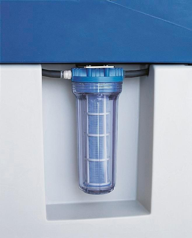 Filter set with strainer insert for cleaning table bio.x C500 / C800 and Safety Cleaner L500 / L800
