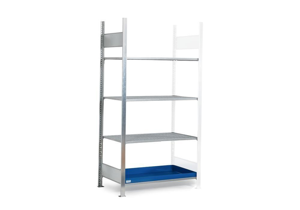 HazMat rack GRG 1060 for flamm substances, 3 grids, 1010 x 640 x 2000 mm, ext shelf unit