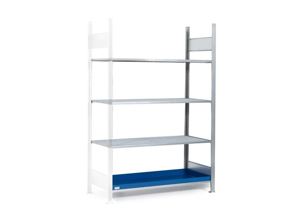 HazMat rack GRG 1360 for flamm substances, 3 grids, 1310 x 640 x 2000 mm, ext shelf unit