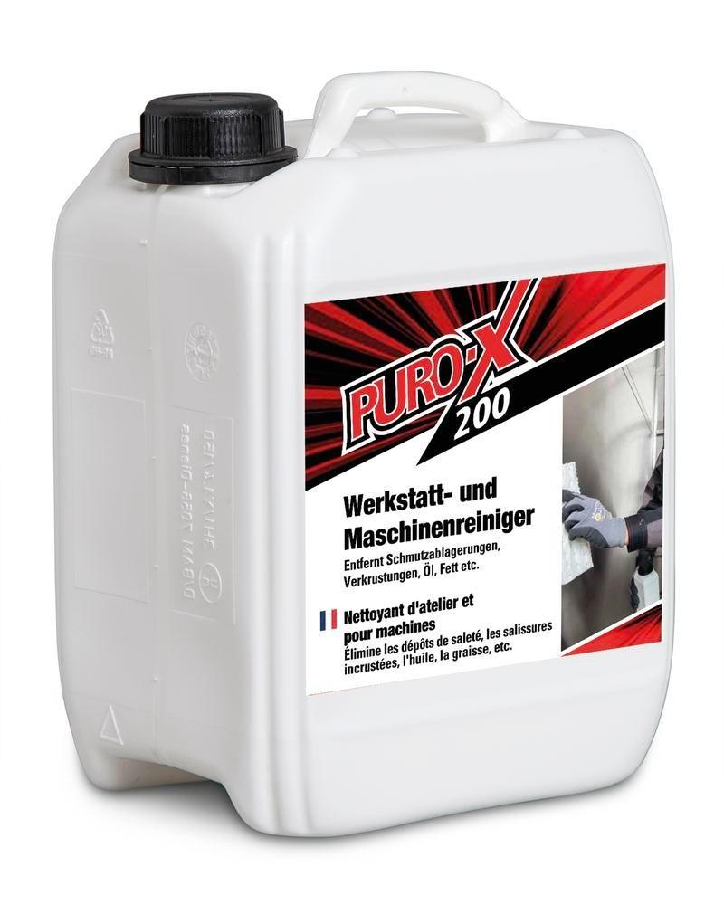Machine cleaner and workshop cleaner PURO-X 200, alkaline concentrate, 1 x 20 l canister