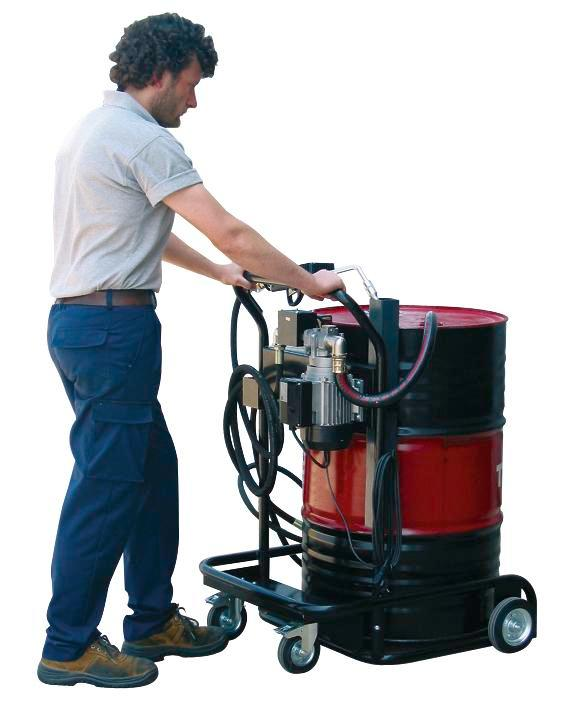 Mobile oil pump V 200